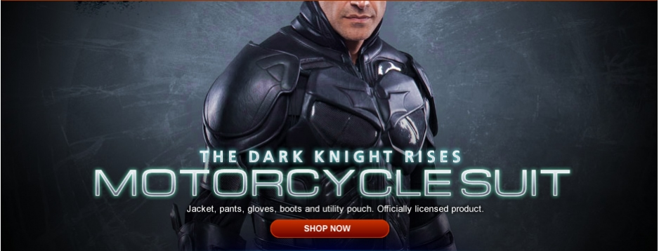 Dark Knight Rises - Motor Cycle Suit