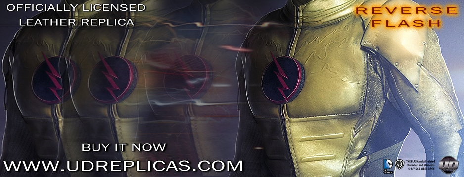 REVERSE FLASH - Official Leather Replica